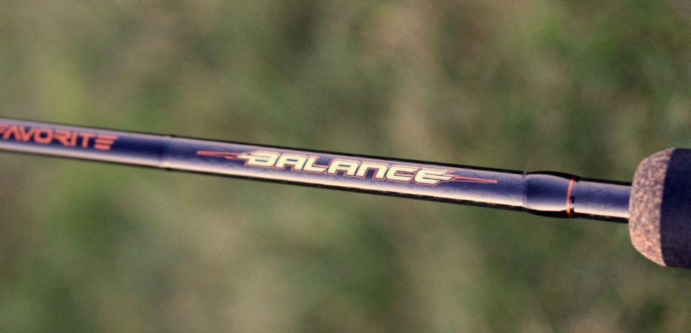 Wędzisko Spinningowe Balance  / 1,98m/ 2-7g / 662 UL