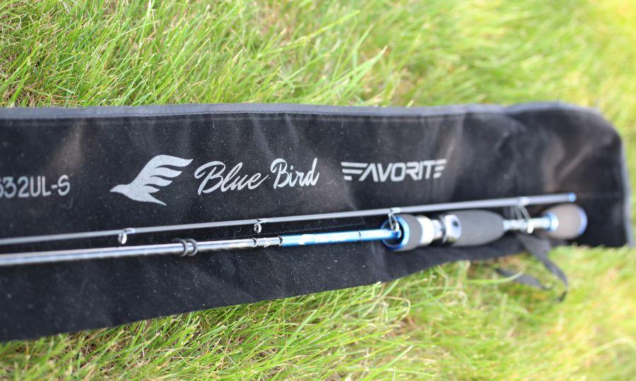 Wędzisko Spinningowe Blue Bird  / 2,04m/ 0,5-5g / 682 SUL -S