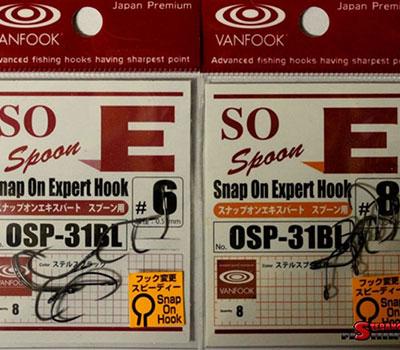 Haki VANFOOK: OSP-31BL (z systemem szybkiej wymiany) (op. 8 szt.)
