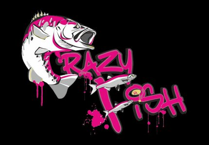 logo CRAZY FISH original 1000