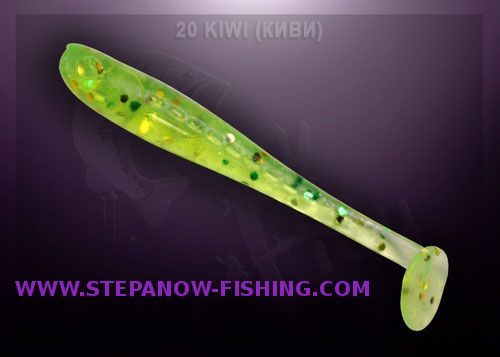 crazy fish nano minnow 4cm 20 kiwi