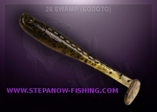 crazy fish nano minnow 4cm 26 swamp