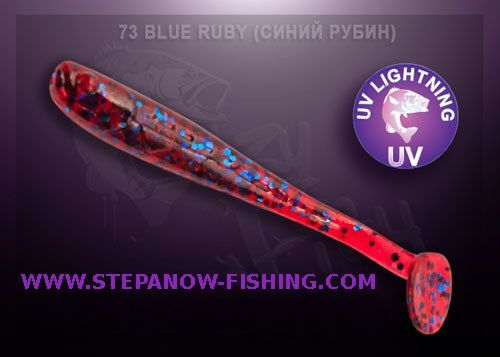 crazy fish nano minnow 4cm 73 blue ruby
