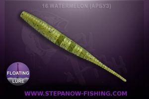 crazy fish polaris floating 10cm 16 watermelon