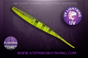 crazy fish polaris floating 10cm 4d chart swamp