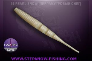 crazy fish polaris floating 10cm 66 pearl snow