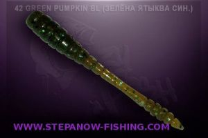 crazy fish tipsy 5cm 42 green pumpkin blue
