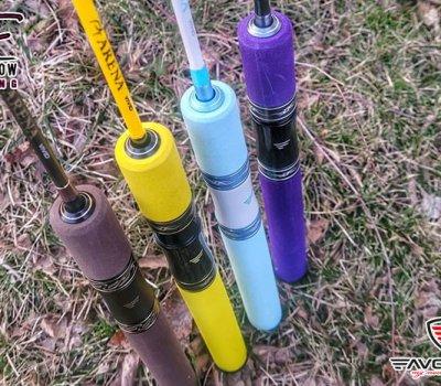 favorite-arena-vivid-4g-spinning-rod-brown-handle