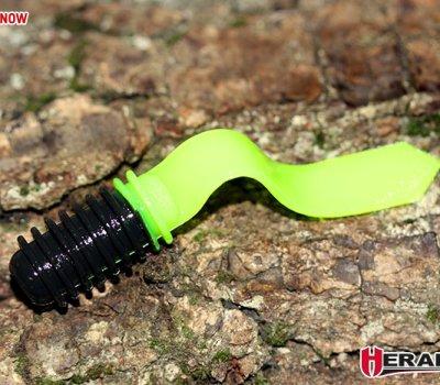herakles-soft-bait-trout-tad-7,5cm-black-chartreuse