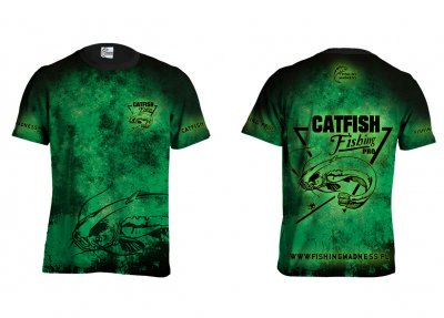 CATFISH_PRO_DARK_GREEN_TSHIRT